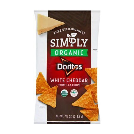 doritos tortilla chips white cheddar