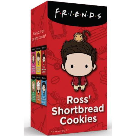 friends cookies ross shortbread cookies