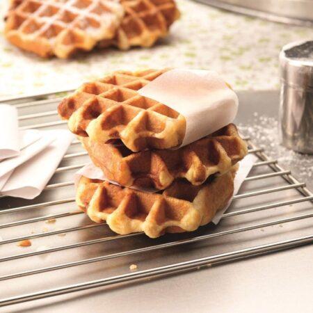 gourmet selection belgian waffles 220g 2