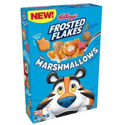 kelloggs frosted flakes marshmallow cereal