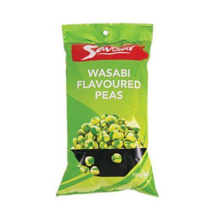 savour wasabi peas g