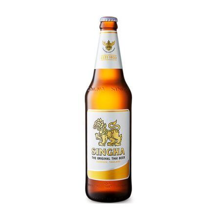 singha beer bottle 330ml