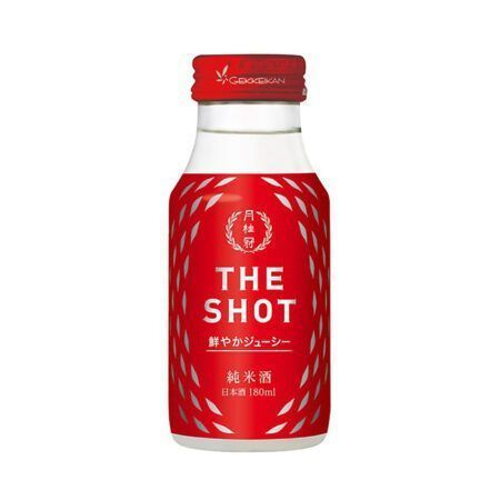 the shot sake gekkeikan
