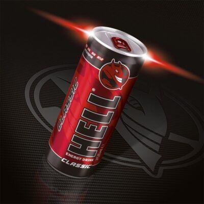 Hell energy drink energeiako poto Classic 250ml 2