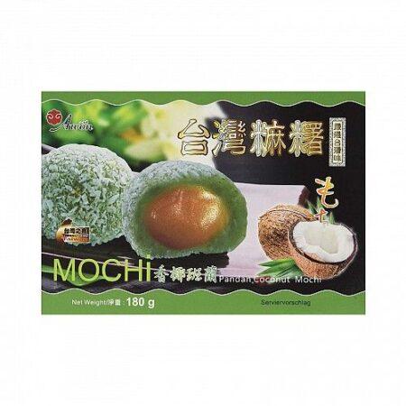 awon mochi coconut pandan