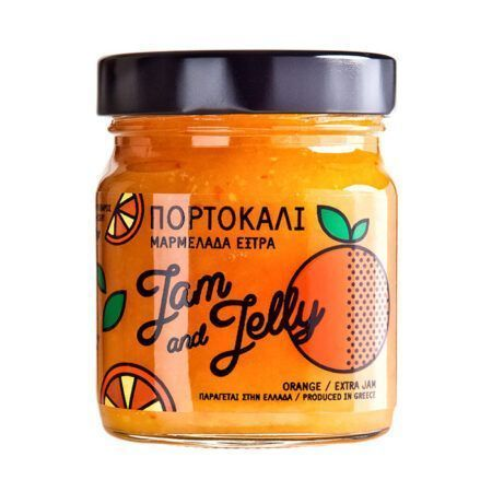 jam and jelly 370g πορτοκαλι