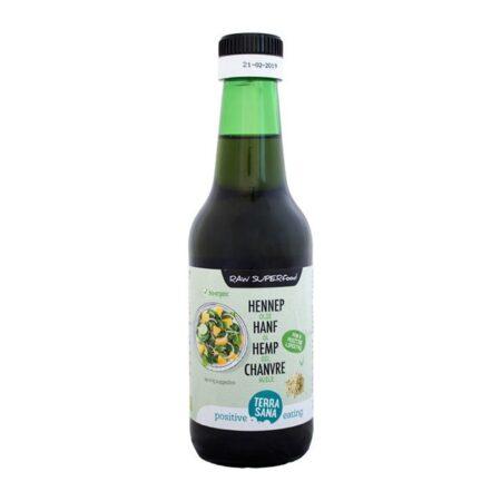 terrasana hemp oil raw bio ml