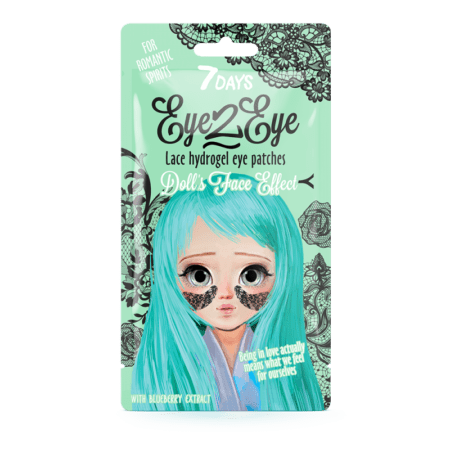 days eye  eye lace hydrogel eye patch blueberry g