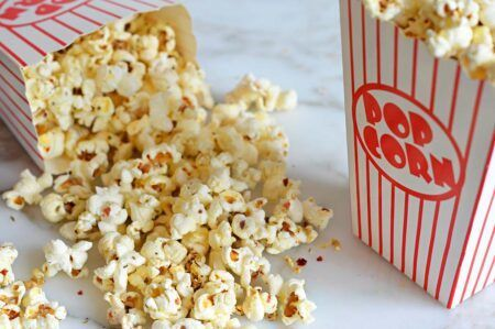 Butterkist sweet popcorn