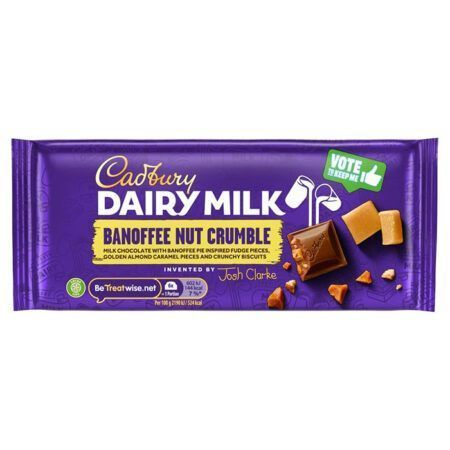 Cadbury Dairy Milk Inventor Banoffee nut