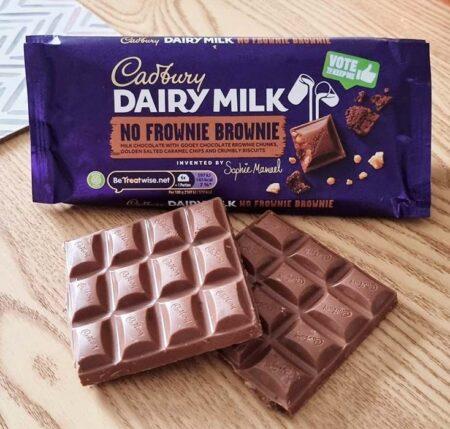 Cadbury Dairy Milk No Frownie Brownie g