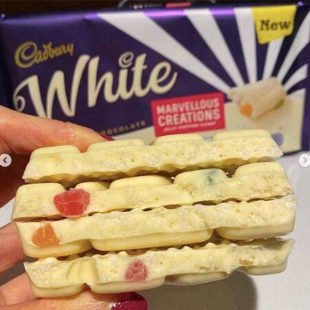 Cadbury White Jelly Popping Candy