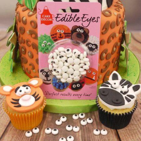 Cake Decor Edible Eyes