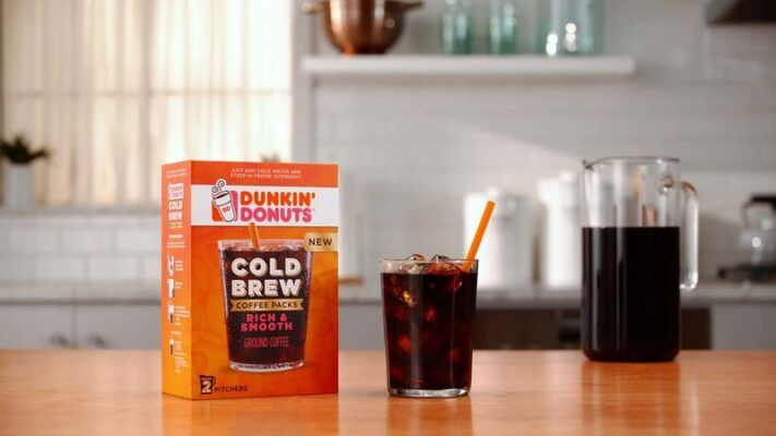 Cold Brew Coffee Packs dunkin 2