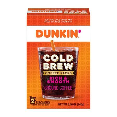 Cold Brew Coffee Packs dunkin