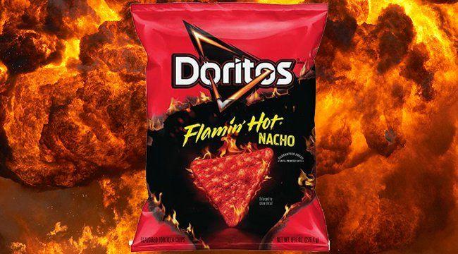 Doritos Flamin Hot Nacho 3