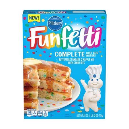 Funfetti Pancake and Waffle Mix pillsbury