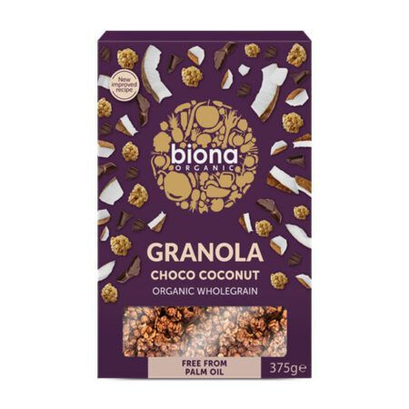 GRANOLA CHCO COCONUT biona