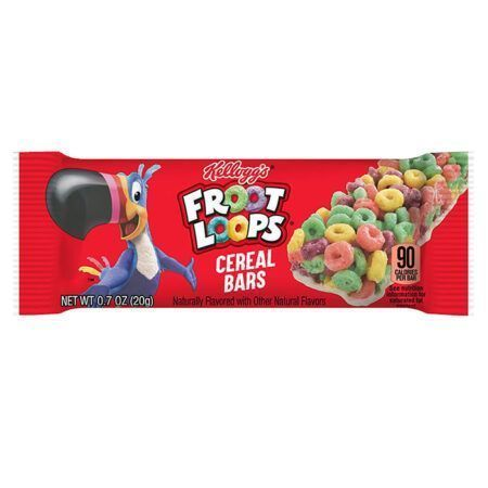 Kelloggs Froot Loops Cereal Bar g