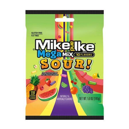 Mike and Ike Mega Mix Sour g