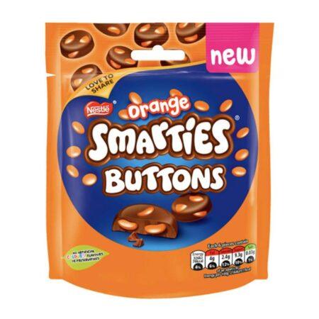 Nestle Smarties Orange Buttons Pouch