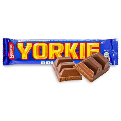 Nestle Yorkie Original Chocolate Bar – Σοκολάτα Γάλακτος 46gr 2