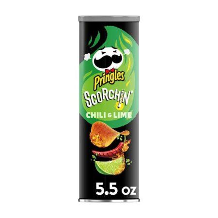 Pringles Scorchin Chili Lime