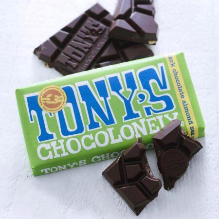 Tonys Chocolonely Dark Chocolate Almond Sea Salt