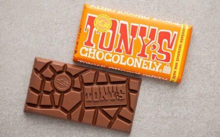 Tonys Chocolonely Milk Chocolate Caramel Sea Salt