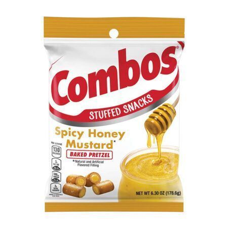 combos pretzel spicy honey mustard