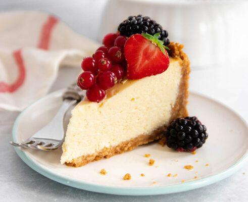 jell o no bake real cheesecake dessert 1