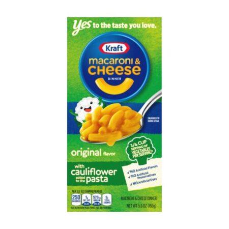 kraft mac ccauliflower pasta