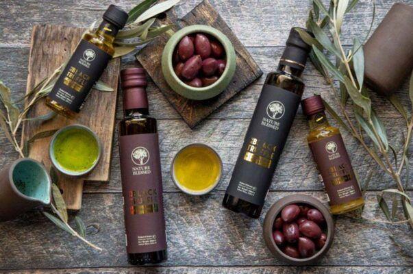 natureblessed black truffle extra virgin olive oil