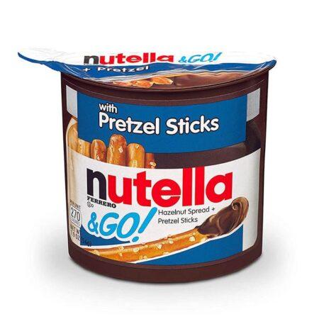 nutella sticks pretzel