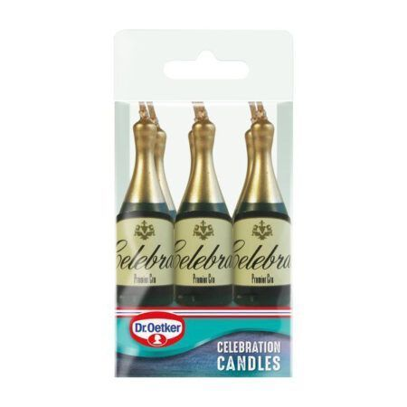 oetker champagne candles