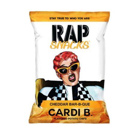 rap snacks cardi b cheddar barbecue