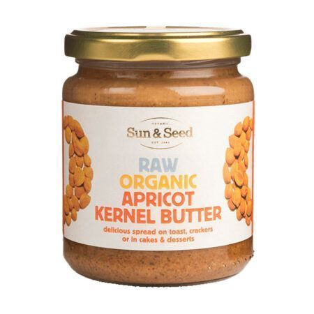 sun seed apricot kernel butter g