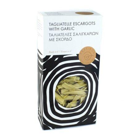 tagliatelle escargots garlic fereikos