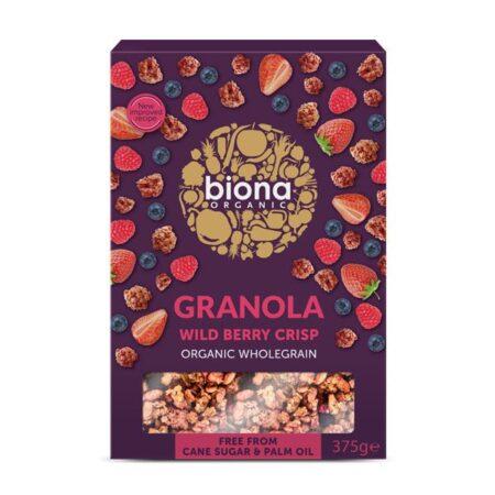 wild berry granola biona