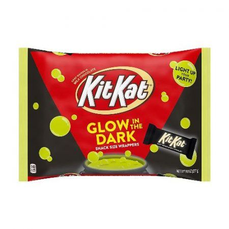 Kit Kat Snack Size with Glow in the Dark Wrappers 277gr