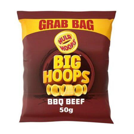 Hula Hoops Big Hoops BBQ Beef