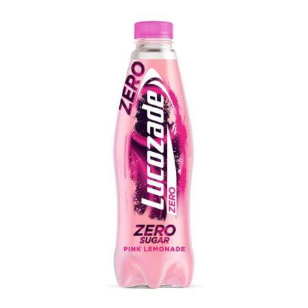 Lucozade Energy Zero Pink Lemonade