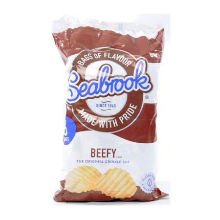 Seabrook Beefy Crinkle Cut Crisp