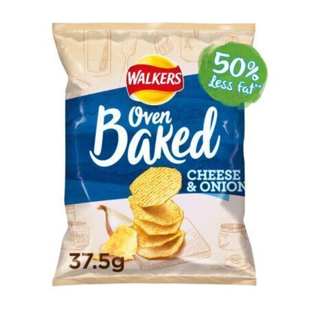 Walkers Baked Cheese Onion