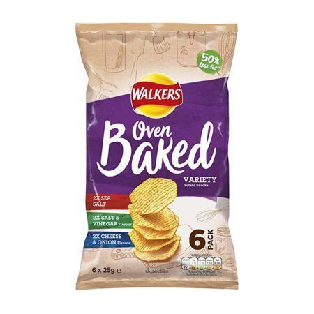 Walkers Oven Baked Variety