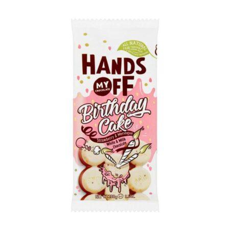 hands off my chocolate birthday cake