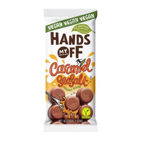 hands off my chocolate caramel seasalt