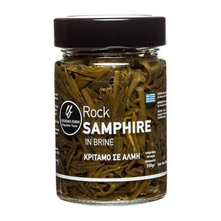 rock samphire in brine jar ml