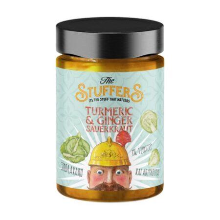 turmeric ginger sauerkraut jar ml